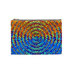 Background Color Game Pattern Cosmetic Bag (medium)