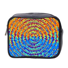 Background Color Game Pattern Mini Toiletries Bag 2 Side