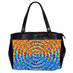 Background Color Game Pattern Office Handbags (2 Sides)