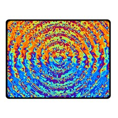 Background Color Game Pattern Fleece Blanket (small)