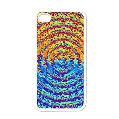 Background Color Game Pattern Apple Iphone 4 Case (white)