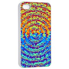 Background Color Game Pattern Apple Iphone 4/4s Seamless Case (white)