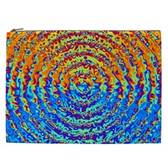 Background Color Game Pattern Cosmetic Bag (xxl)