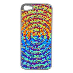 Background Color Game Pattern Apple Iphone 5 Case (silver)