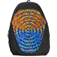 Background Color Game Pattern Backpack Bag