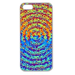 Background Color Game Pattern Apple Seamless Iphone 5 Case (clear)