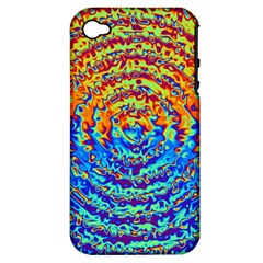 Background Color Game Pattern Apple Iphone 4/4s Hardshell Case (pc+silicone)