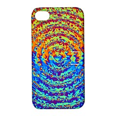 Background Color Game Pattern Apple Iphone 4/4s Hardshell Case With Stand