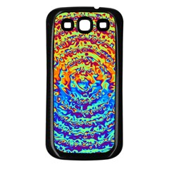 Background Color Game Pattern Samsung Galaxy S3 Back Case (black)