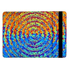 Background Color Game Pattern Samsung Galaxy Tab Pro 12 2  Flip Case