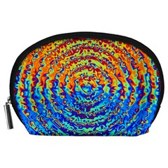 Background Color Game Pattern Accessory Pouches (large)