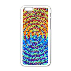 Background Color Game Pattern Apple Iphone 6/6s White Enamel Case
