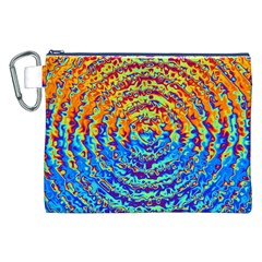 Background Color Game Pattern Canvas Cosmetic Bag (xxl)
