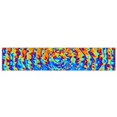 Background Color Game Pattern Flano Scarf (small)