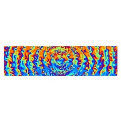 Background Color Game Pattern Satin Scarf (oblong)