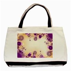 Background Floral Background Basic Tote Bag