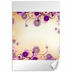 Background Floral Background Canvas 12  X 18