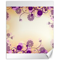 Background Floral Background Canvas 16  X 20