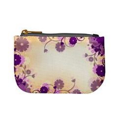 Background Floral Background Mini Coin Purses