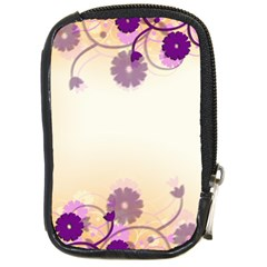 Background Floral Background Compact Camera Cases