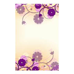 Background Floral Background Shower Curtain 48  X 72  (small)