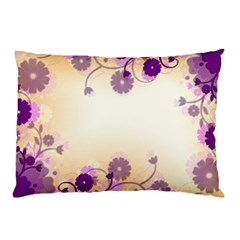 Background Floral Background Pillow Case (two Sides)