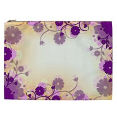 Background Floral Background Cosmetic Bag (xxl)