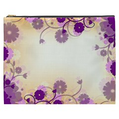 Background Floral Background Cosmetic Bag (xxxl)