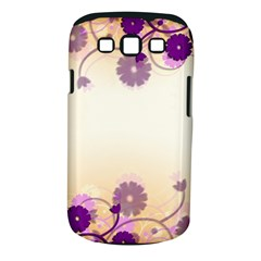 Background Floral Background Samsung Galaxy S Iii Classic Hardshell Case (pc+silicone)