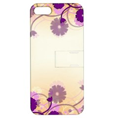Background Floral Background Apple Iphone 5 Hardshell Case With Stand