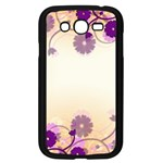 Background Floral Background Samsung Galaxy Grand DUOS I9082 Case (Black) Front