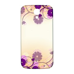 Background Floral Background Samsung Galaxy S4 I9500/i9505  Hardshell Back Case