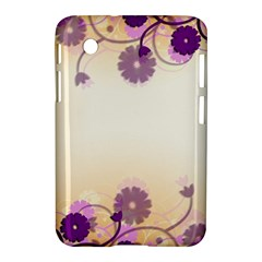 Background Floral Background Samsung Galaxy Tab 2 (7 ) P3100 Hardshell Case