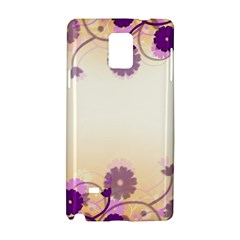 Background Floral Background Samsung Galaxy Note 4 Hardshell Case