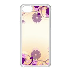 Background Floral Background Apple iPhone 7 Seamless Case (White)