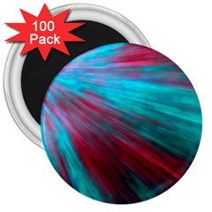 Background Texture Pattern Design 3  Magnets (100 Pack)