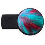 Background Texture Pattern Design USB Flash Drive Round (2 GB) Front