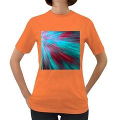 Background Texture Pattern Design Women s Dark T Shirt