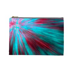Background Texture Pattern Design Cosmetic Bag (large)