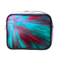 Background Texture Pattern Design Mini Toiletries Bags