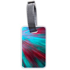 Background Texture Pattern Design Luggage Tags (one Side)