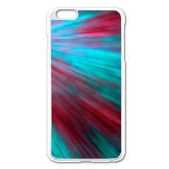 Background Texture Pattern Design Apple Iphone 6 Plus/6s Plus Enamel White Case