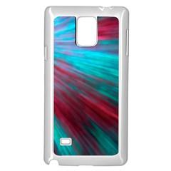 Background Texture Pattern Design Samsung Galaxy Note 4 Case (white)
