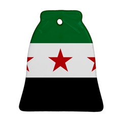 Flag Of Syria Bell Ornament (two Sides)