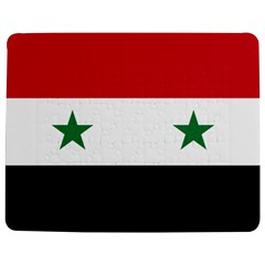 Flag of Syria Jigsaw Puzzle Photo Stand (Rectangular)