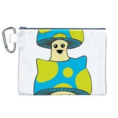 Meowshroom Canvas Cosmetic Bag (XL)