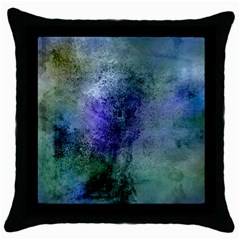 Background Texture Structure Throw Pillow Case (black)