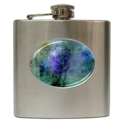Background Texture Structure Hip Flask (6 Oz)
