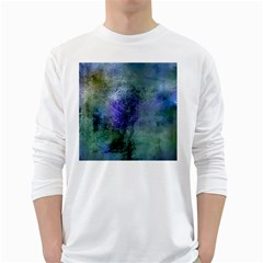 Background Texture Structure White Long Sleeve T Shirts