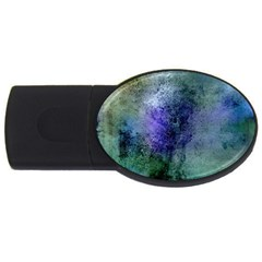 Background Texture Structure Usb Flash Drive Oval (4 Gb)